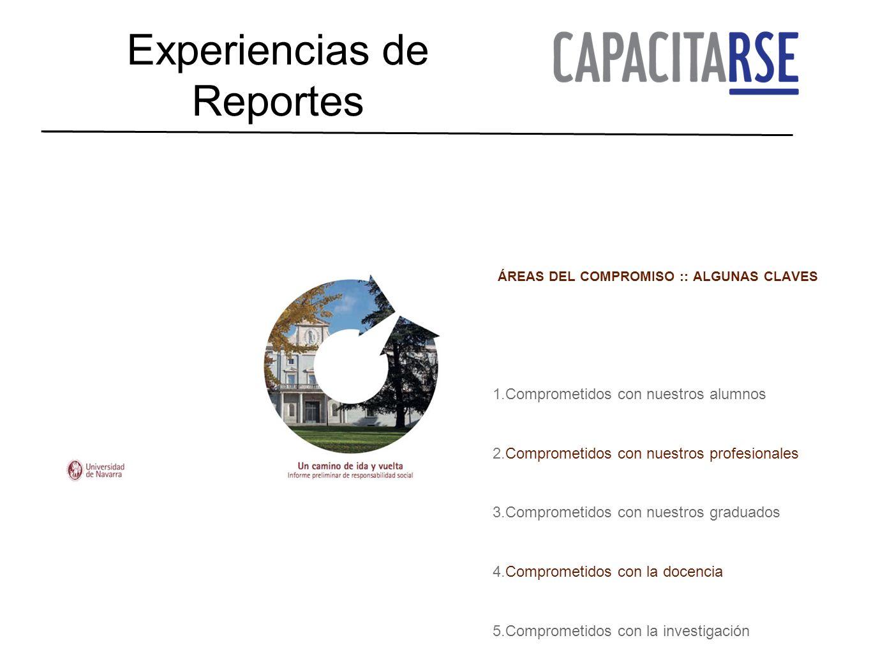 Experiencias de Reportes