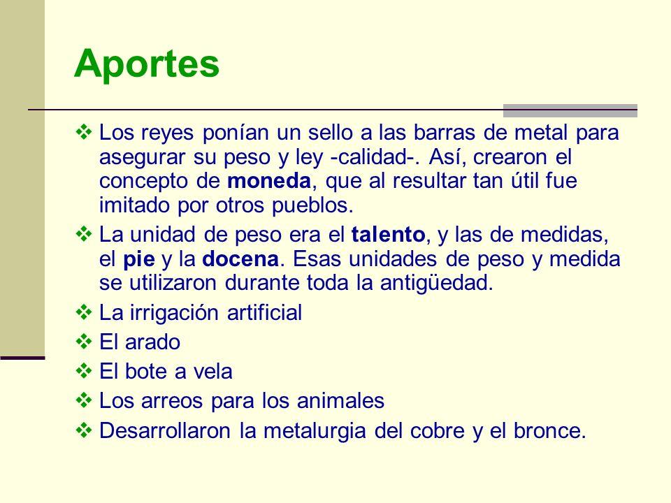Aportes