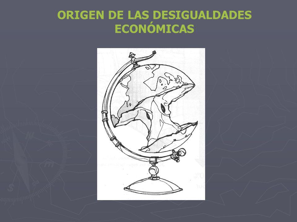 ORIGEN DE LAS DESIGUALDADES ECONÓMICAS