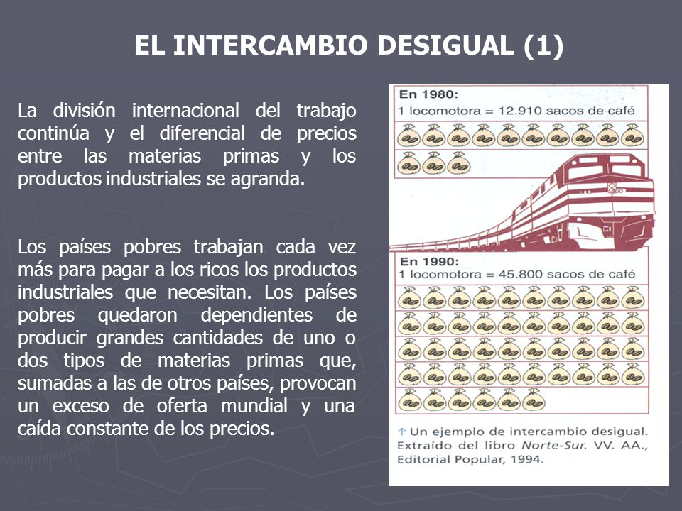 EL INTERCAMBIO DESIGUAL (1)