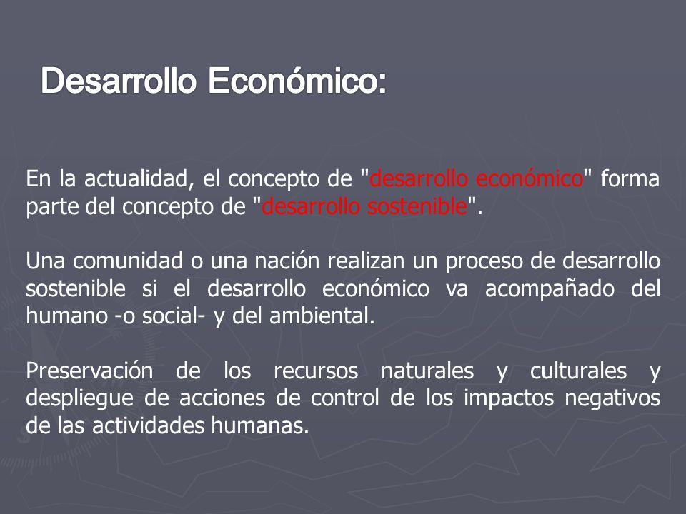 Desarrollo Económico: