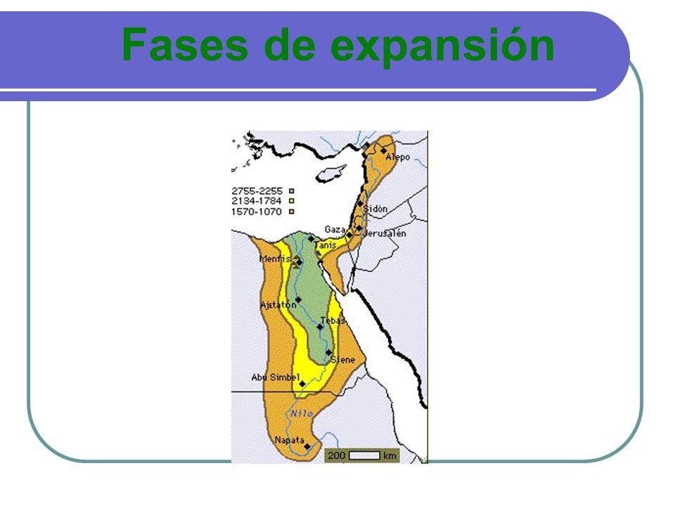 Fases de expansión