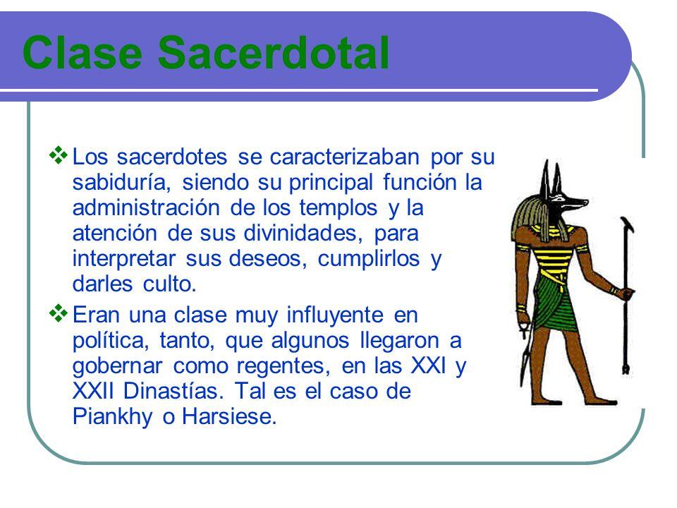 Clase Sacerdotal