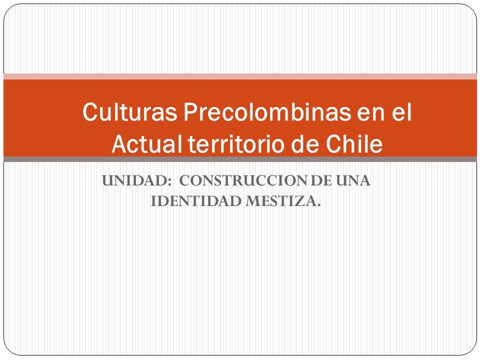Culturas Precolombinas en el Actual territorio de Chile