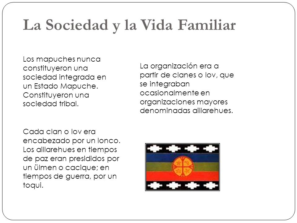 La Sociedad y la Vida Familiar
