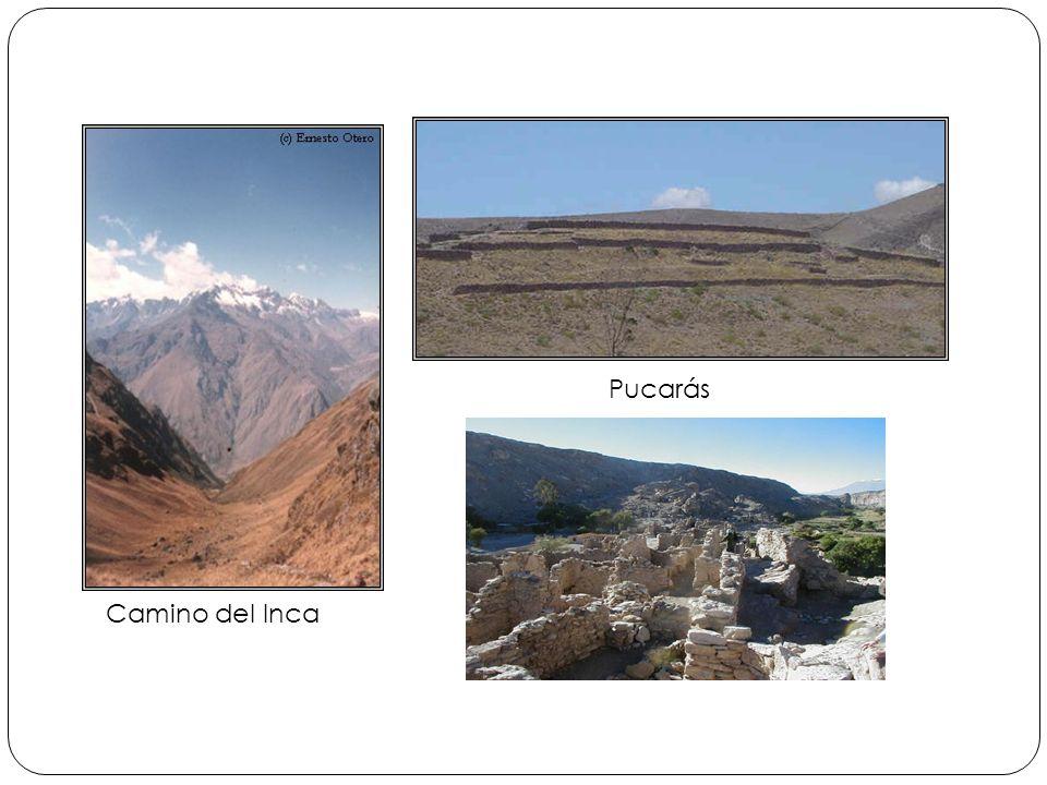 Pucarás Camino del Inca