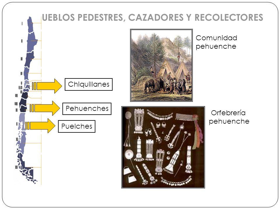 PUEBLOS PEDESTRES, CAZADORES Y RECOLECTORES