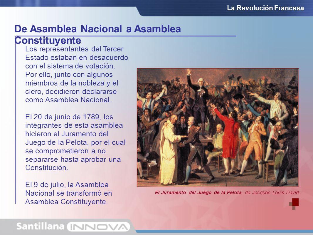 De Asamblea Nacional a Asamblea Constituyente