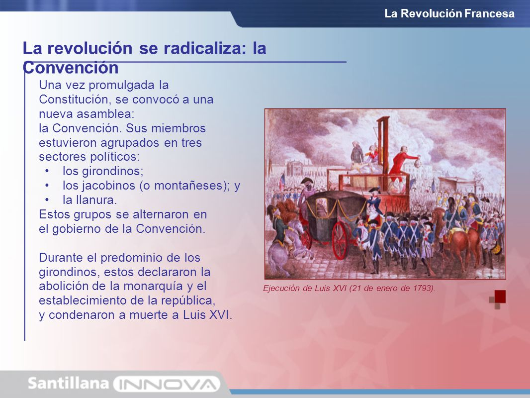 La revolución se radicaliza: la Convención