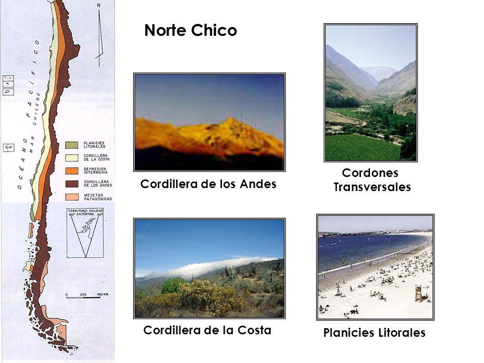 Norte Chico Cordones Transversales Cordillera de los Andes
