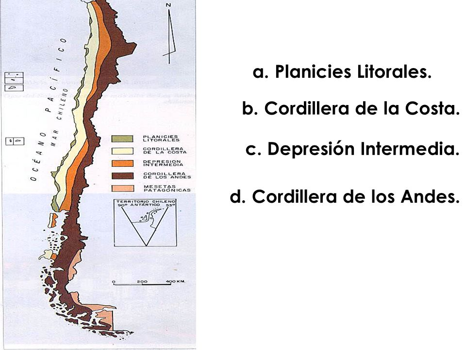 b. Cordillera de la Costa.