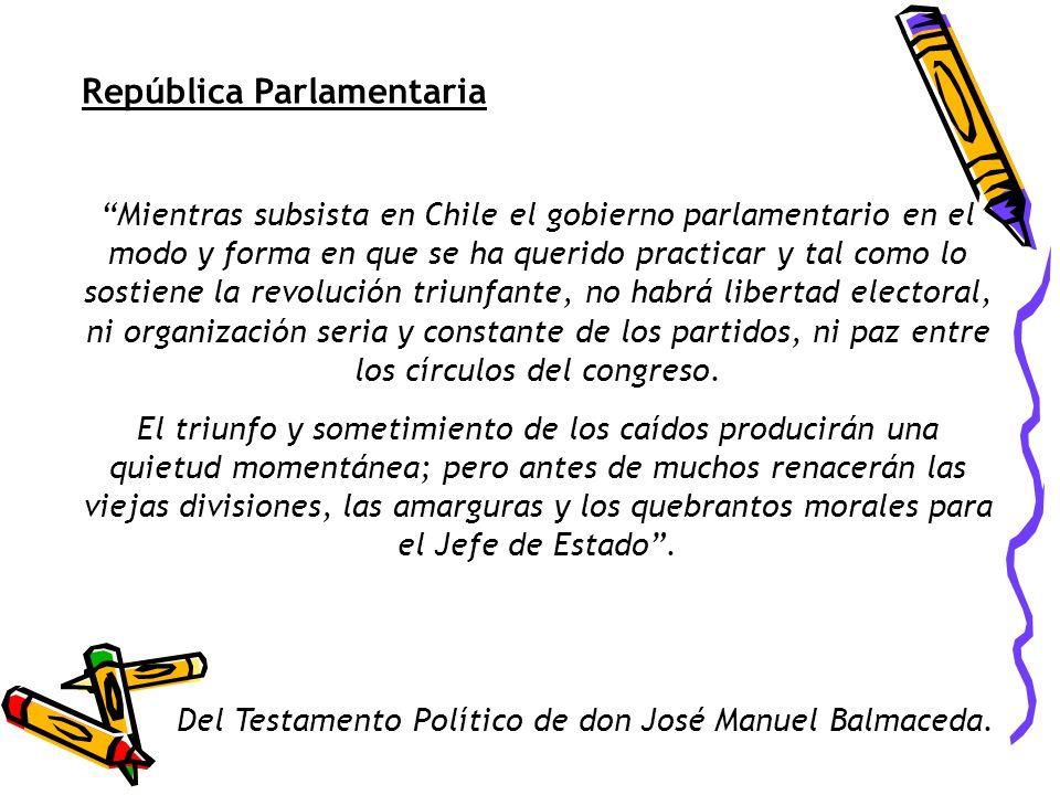 República Parlamentaria