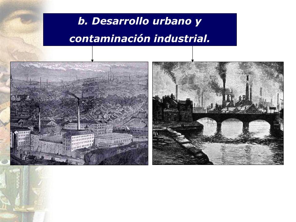 contaminación industrial.