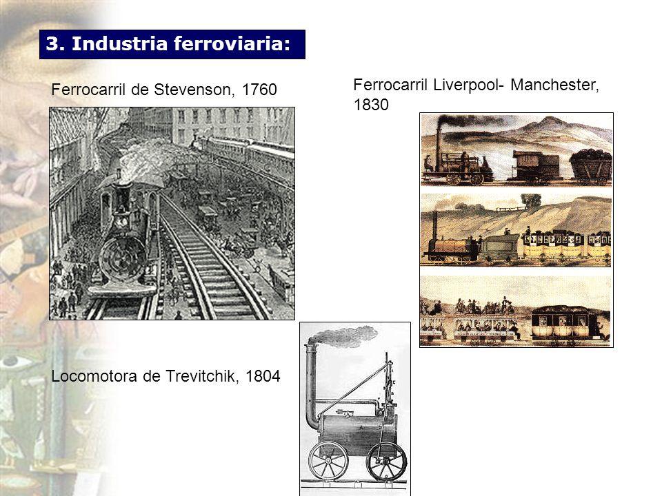 3. Industria ferroviaria: