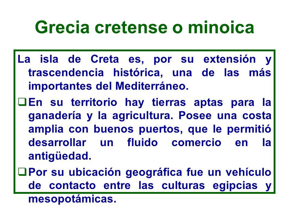 Grecia cretense o minoica