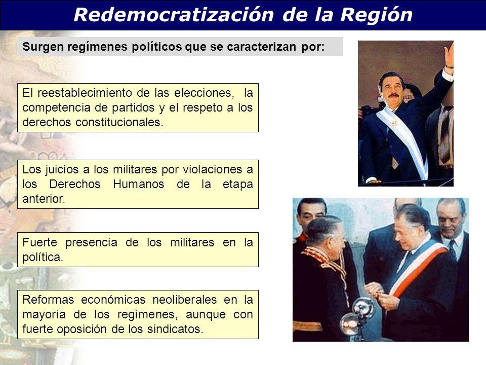 Redemocratización de la Región
