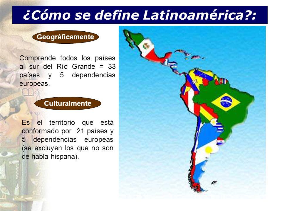 ¿Cómo se define Latinoamérica :