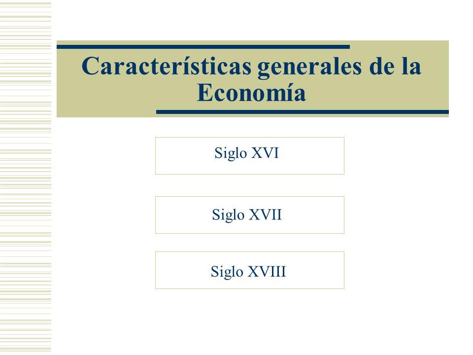 Características generales de la Economía