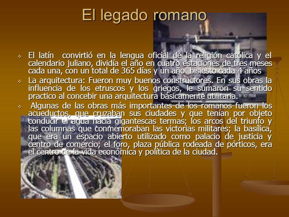 El legado romano