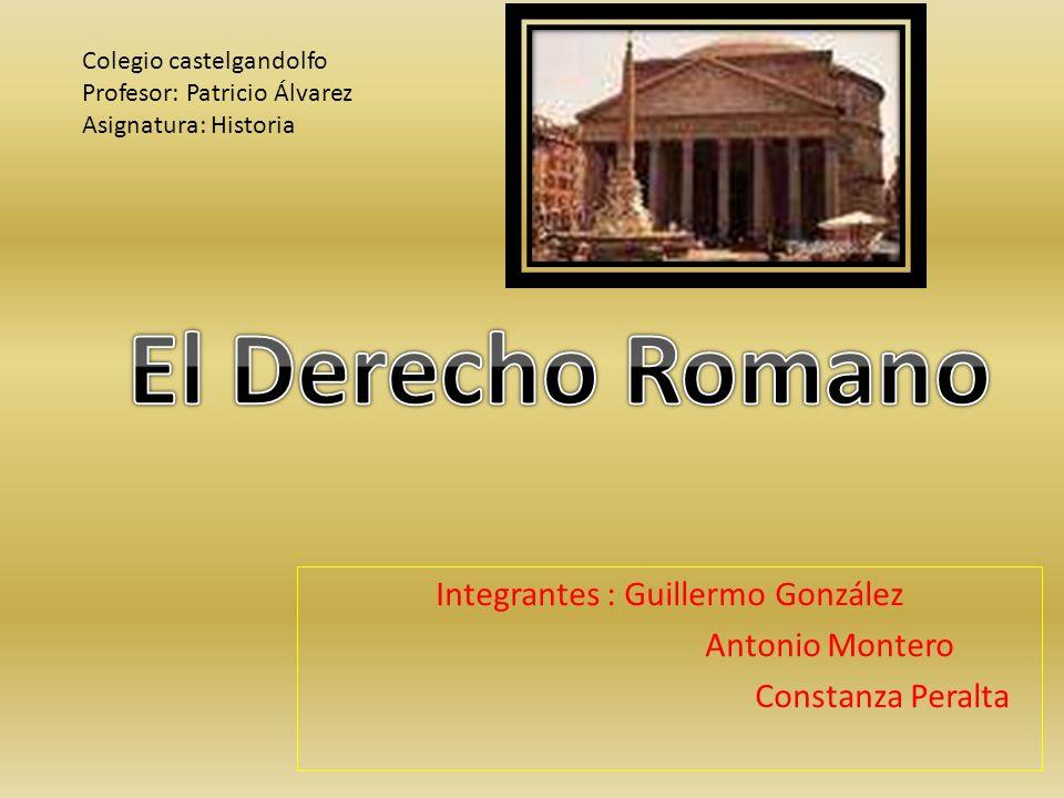 Integrantes : Guillermo González Antonio Montero Constanza Peralta