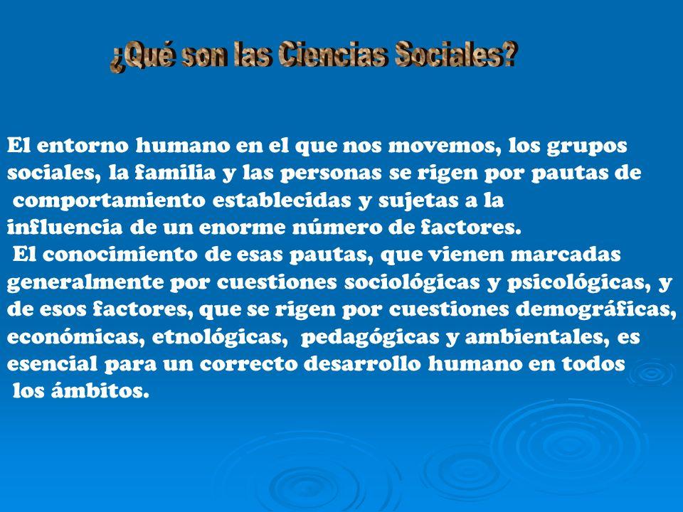 ¿Qué son las Ciencias Sociales