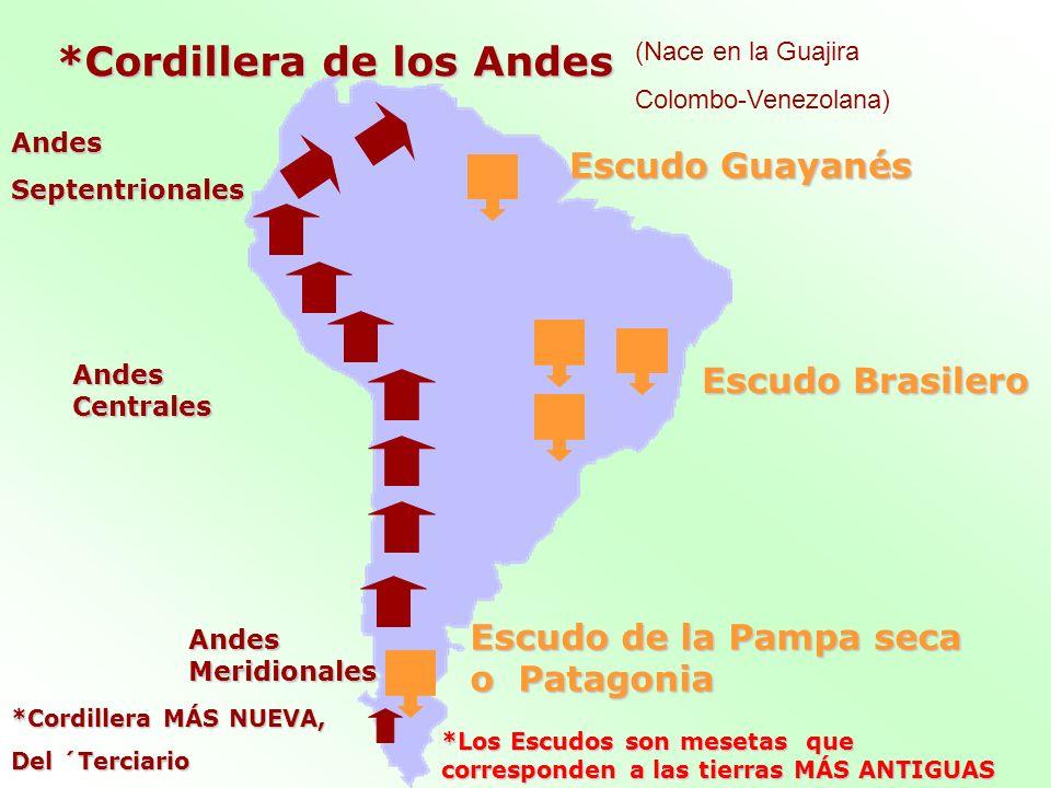 *Cordillera de los Andes