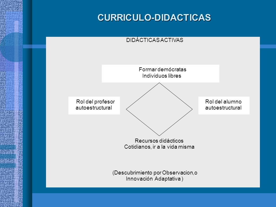 CURRICULO-DIDACTICAS