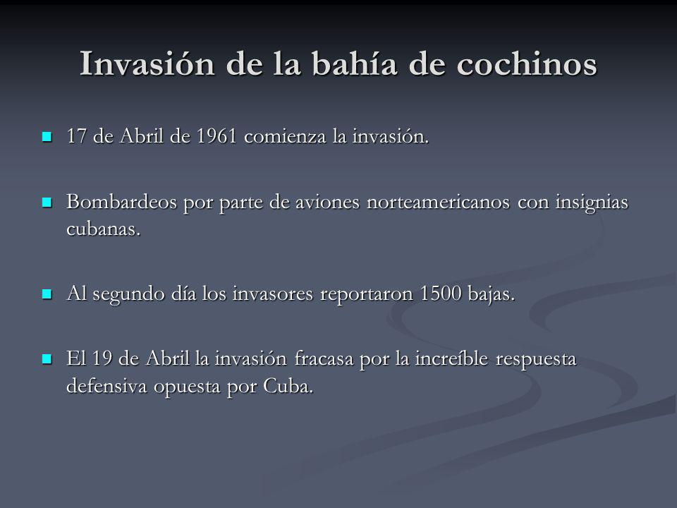 Invasión de la bahía de cochinos