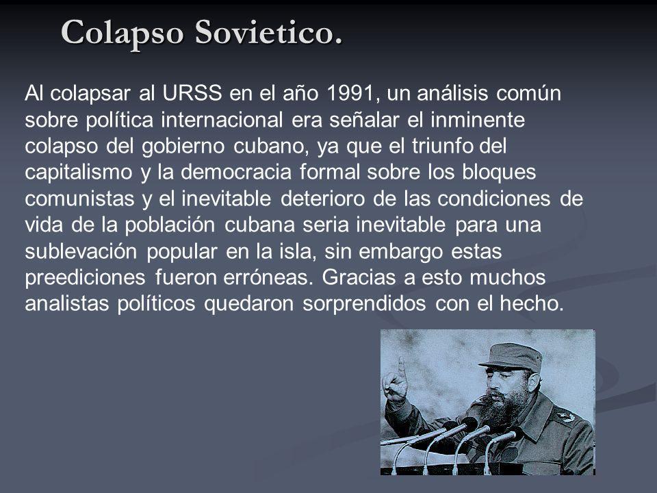 Colapso Sovietico.