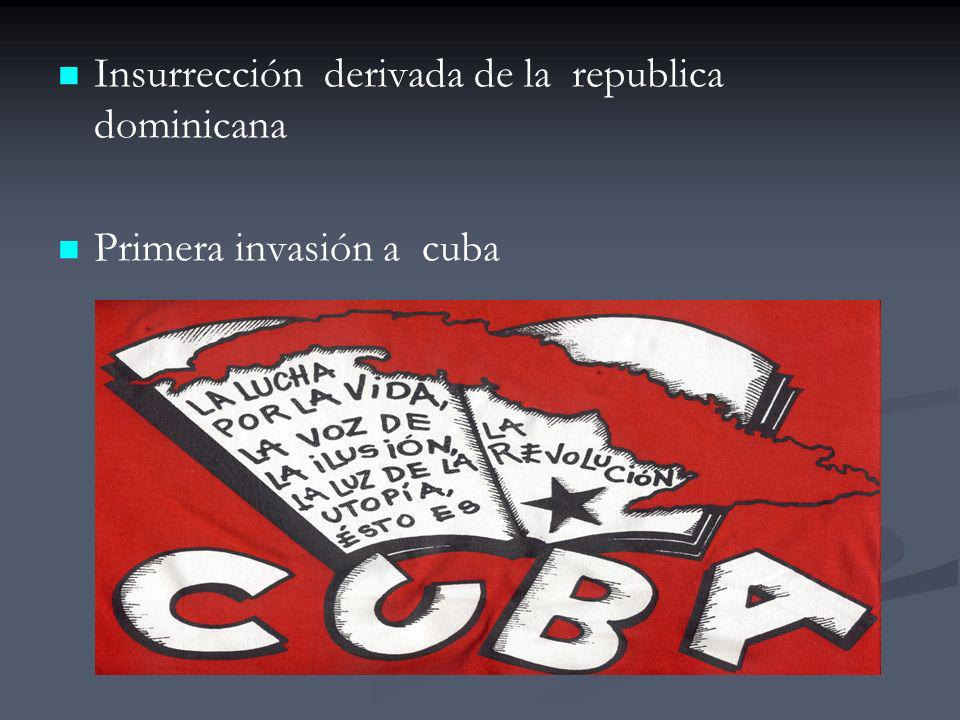 Insurrección derivada de la republica dominicana