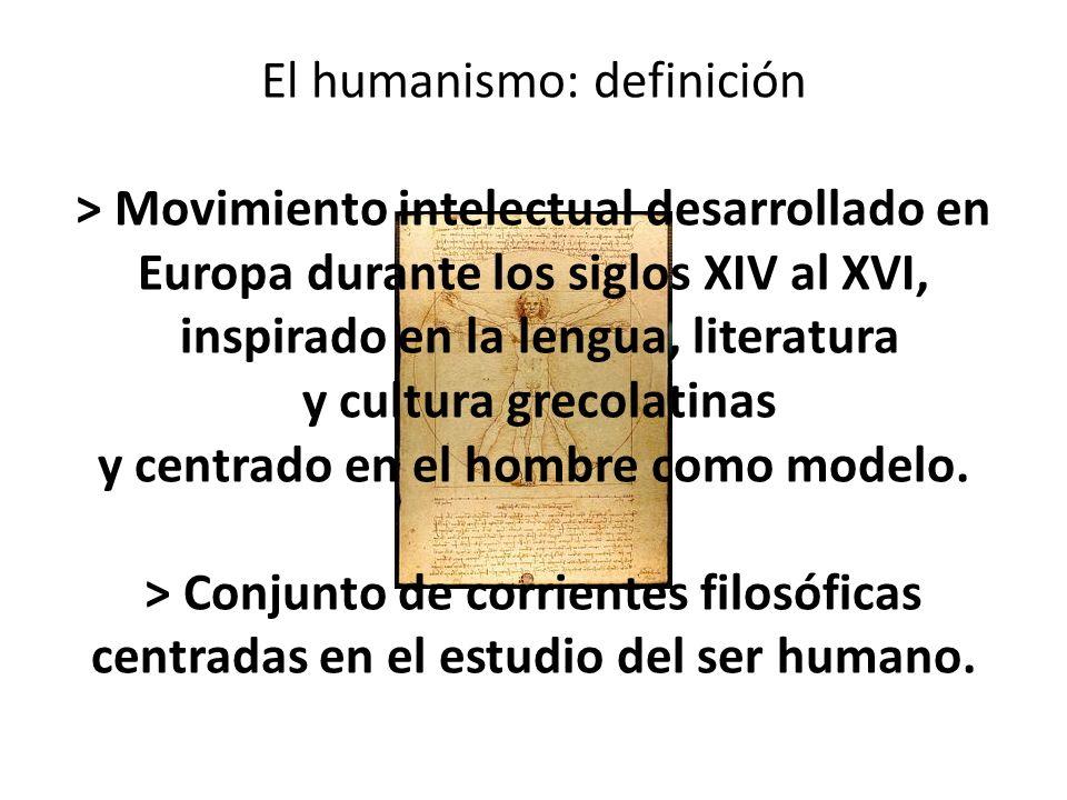 El humanismo: definición