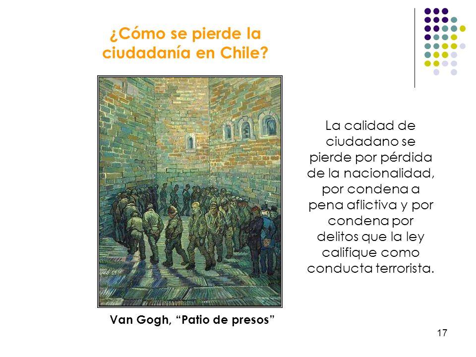 Van Gogh, Patio de presos