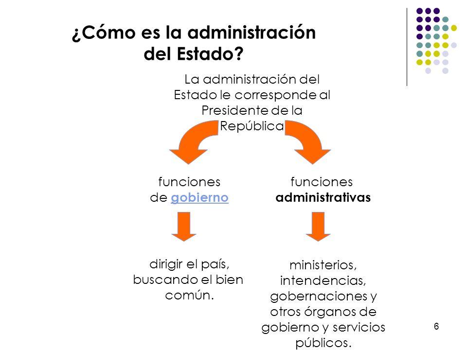 ¿Cómo es la administración