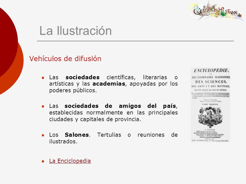 La Ilustración Vehículos de difusión