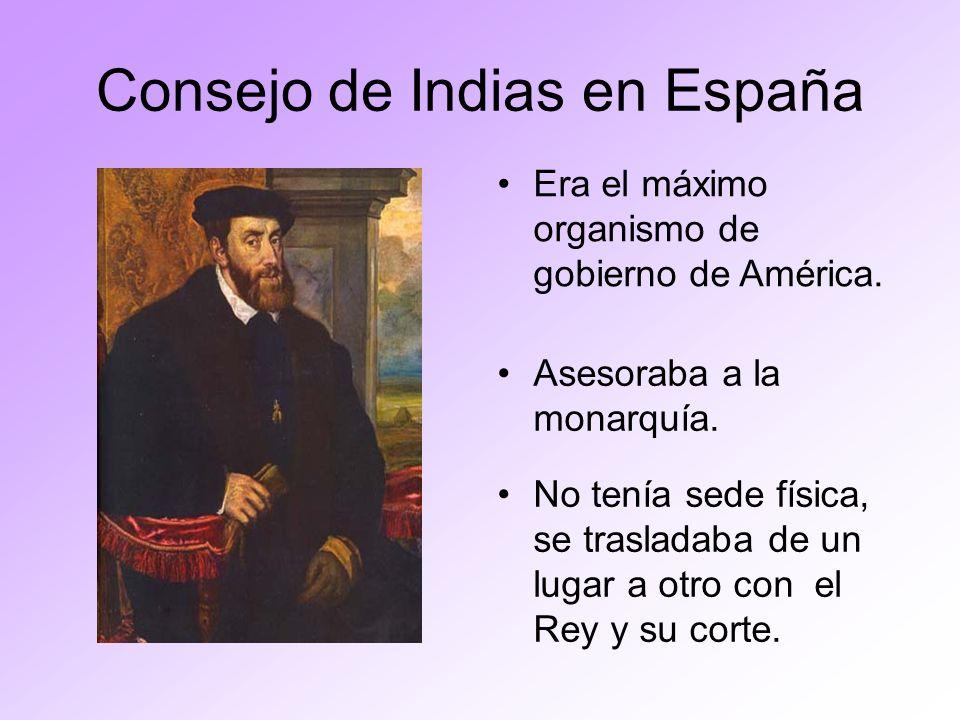 Consejo de Indias en España