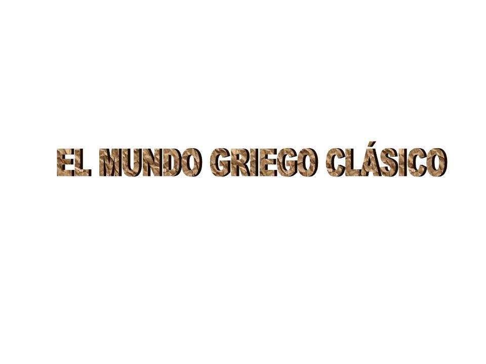 EL MUNDO GRIEGO CLÁSICO