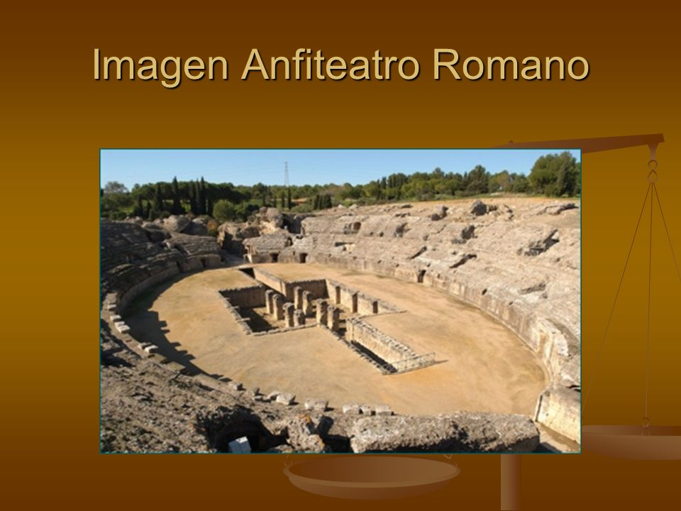 Imagen Anfiteatro Romano
