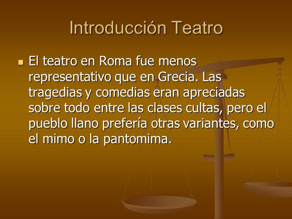 Introducción Teatro