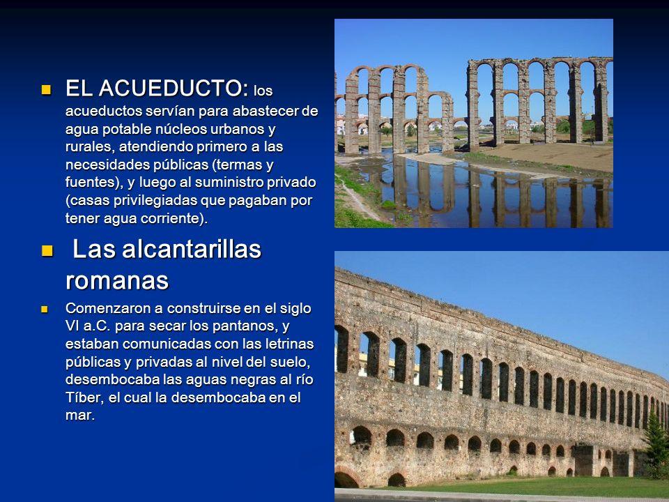 Las alcantarillas romanas