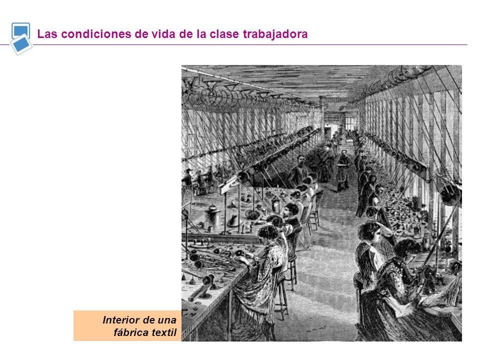 Las condiciones de vida de la clase trabajadora