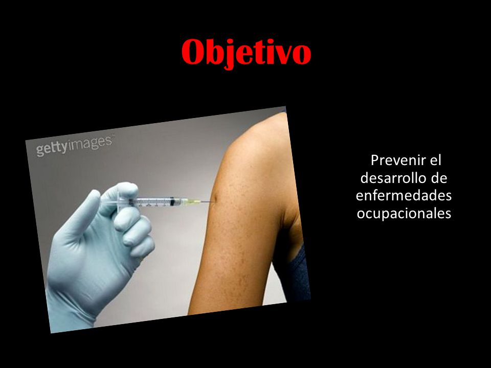Prevenir el desarrollo de enfermedades ocupacionales
