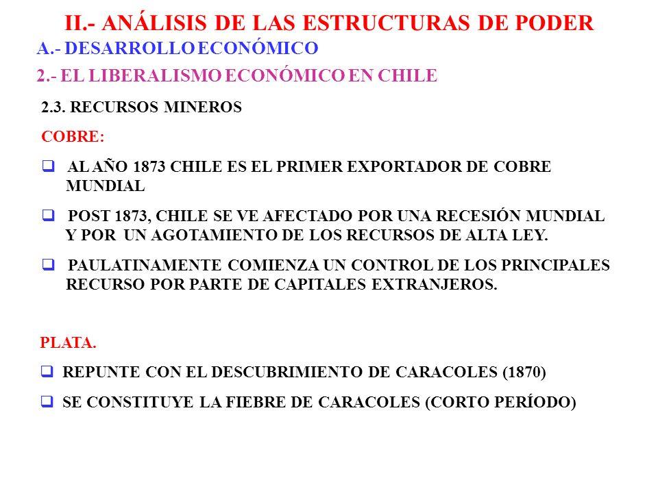 II.- ANÁLISIS DE LAS ESTRUCTURAS DE PODER