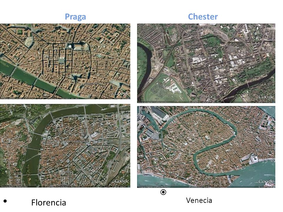 Praga Chester Venecia Florencia