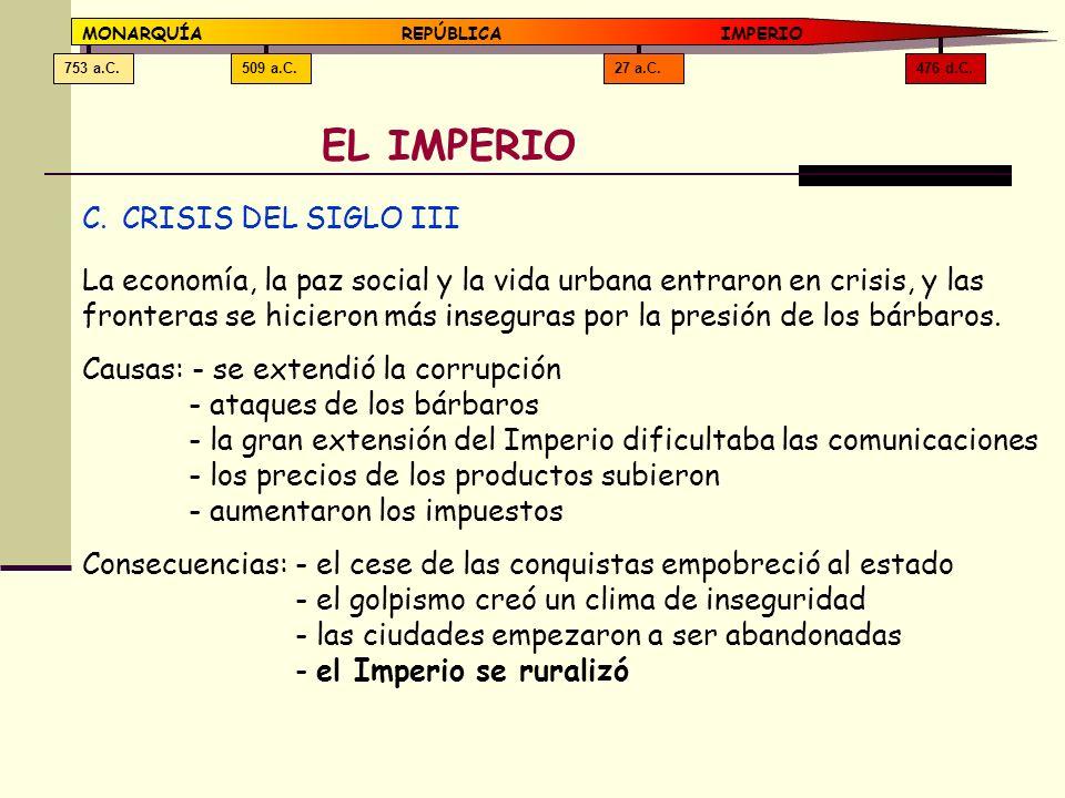 EL IMPERIO CRISIS DEL SIGLO III