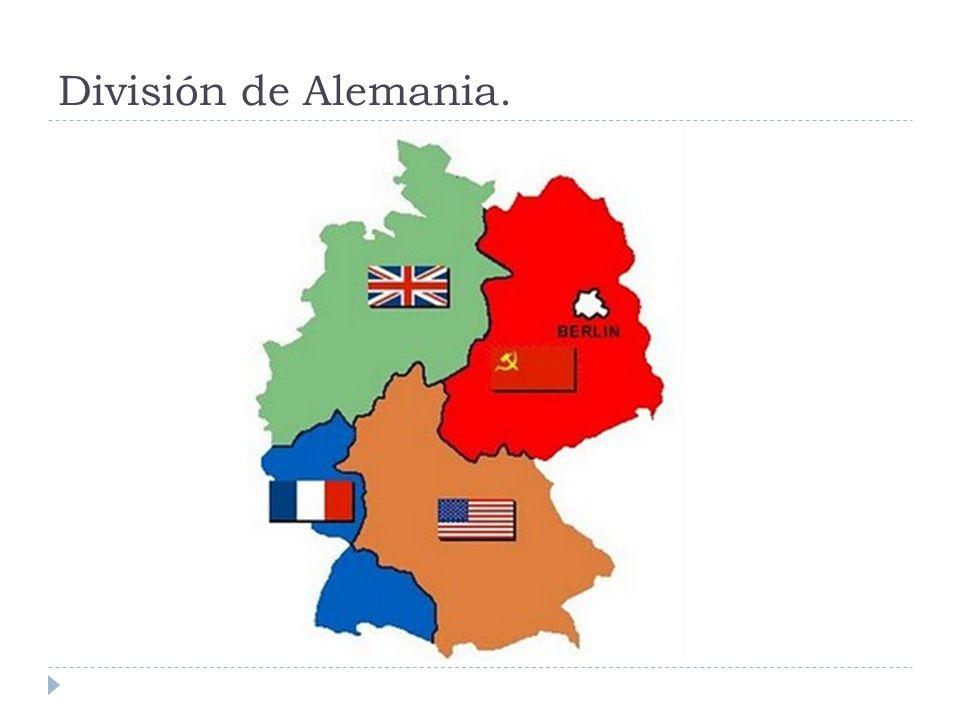 División de Alemania.