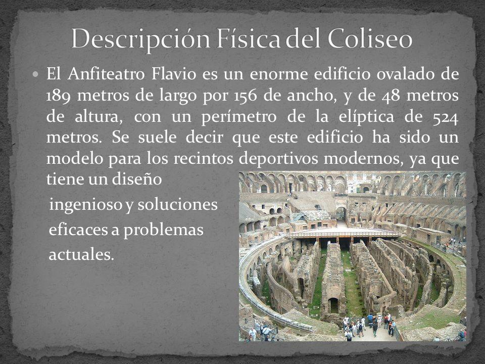 Descripción Física del Coliseo