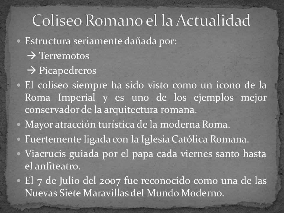 Coliseo Romano el la Actualidad
