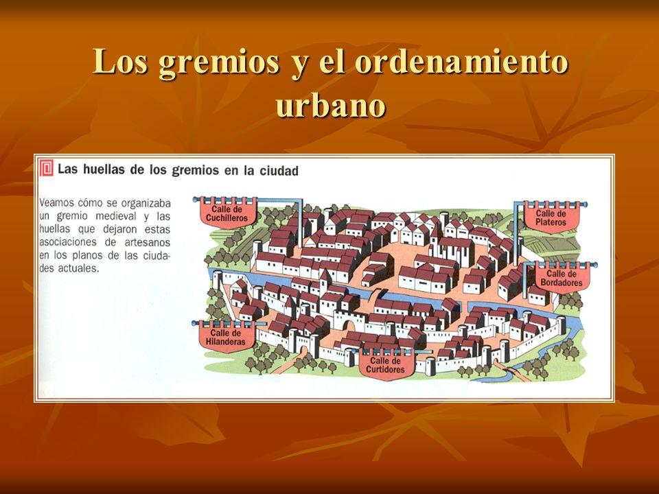 Los gremios y el ordenamiento urbano