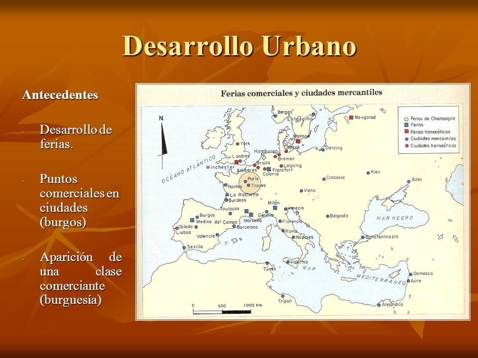 Desarrollo Urbano Antecedentes Desarrollo de ferias.