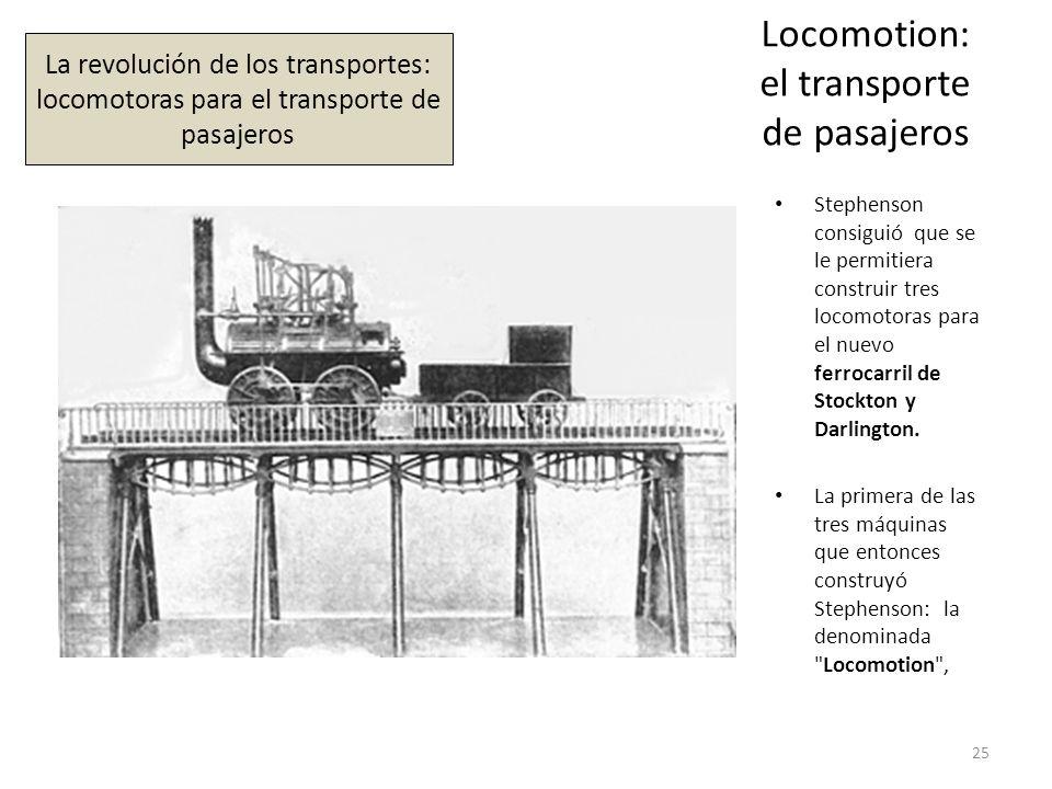 Locomotion: el transporte de pasajeros